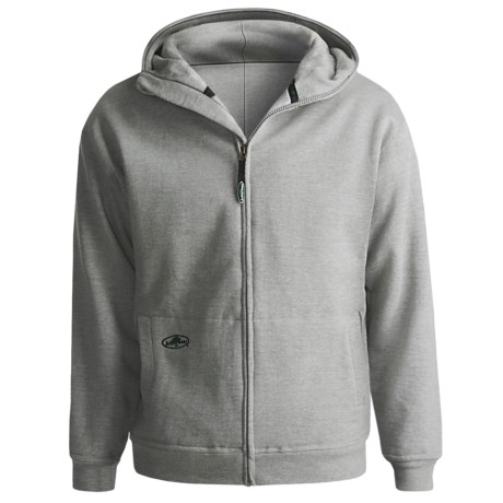 Arborwear Double-Thick Cotton Sweatshirt - Full Zip (For Men)