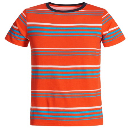 French Toast Stripe T-Shirt - Short Sleeve (For Big Boys)
