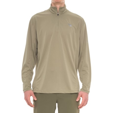 Mojo Sportswear High-Performance Shirt - Zip Neck, Long Sleeve (For Men)