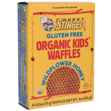 Honey Stinger Organic Gluten-Free Kids' Waffles - Box of 6