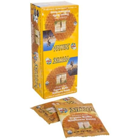 Honey Stinger Organic Gluten-Free Waffles - Box of 16