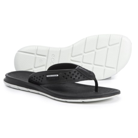 ECCO Intrinsic Toffel Flip-Flops - Leather (For Women)