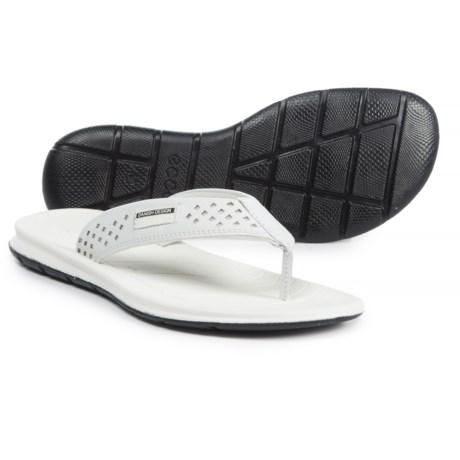 ECCO Intrinsic Toffel Flip-Flops - Leather (For Women)