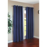 """Commonwealth Home Fashions Harris Curtains - 110x84"""", Grommet-Top"""
