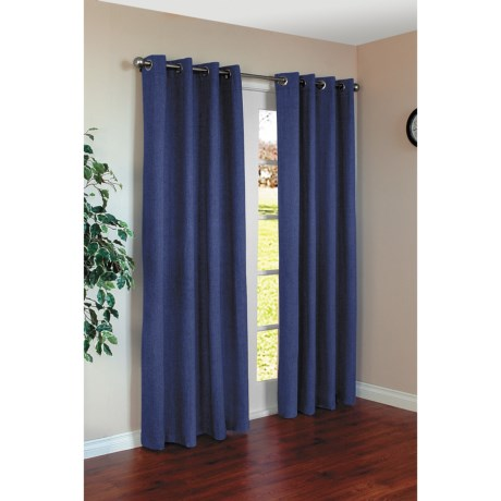 "Commonwealth Home Fashions Harris Curtains - 110x84"", Grommet-Top"