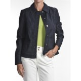 Tribal Sportswear Denim Jacket - Stretch Cotton (For Women)