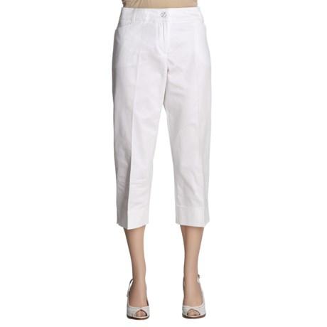 Tribal Sportswear Flatten-It Capri Pants (For Women)