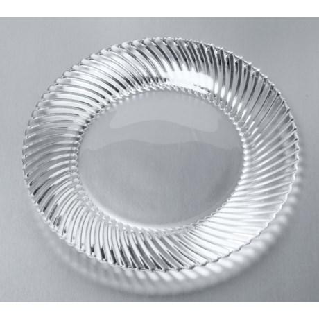 Nachtmann Dancing Stars Samba Plates - Set of 2, Rim Design