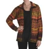 San York Alpaca Cardigan Sweater - Button Front (For Women)