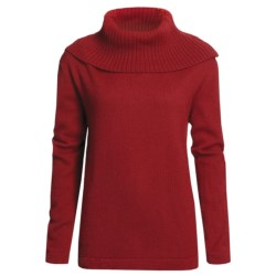 San York Alpaca Pullover Sweater - Cowl Neck (For Women)