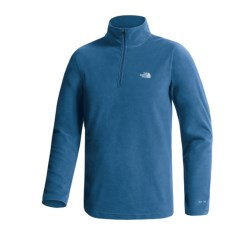 The North Face TKA 100 Glacier Fleece Shirt - Zip Neck, Long Sleeve (For Men)