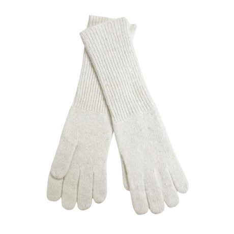 Betmar Angora Gloves - Extra Long (For Women)