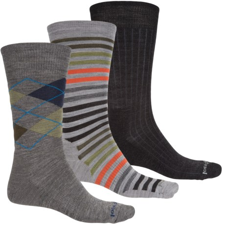 SmartWool Ultra Comfy Trio 1 Socks - Merino Wool, Crew (For Men)