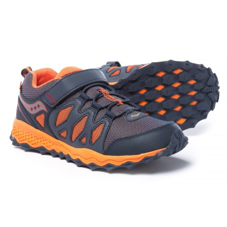 Saucony Peregrine Shield Running Shoes (For Boys)
