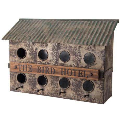 Pd Home & Garden Tin Bird Hotel