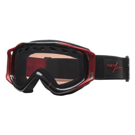 Smith Optics Stance Snowsport Goggles - Interchangeable Lens