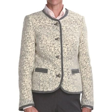 Steinbock Tyrolian Wool Blazer (For Women)