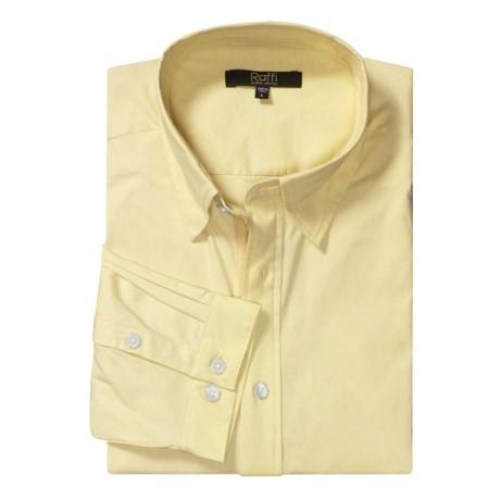 Raffi Stretch Pullover Shirt - Long Sleeve (For Men)