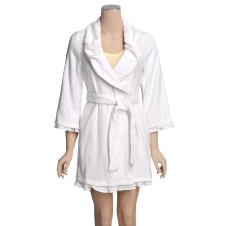 Betsey Johnson Loop Terry Robe (For Women)