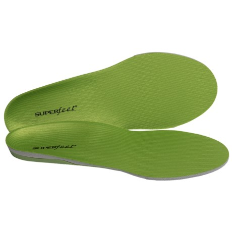 Superfeet Green Trim-to-Fit Wide Insoles - Medium/High Arch (For Men And Women)