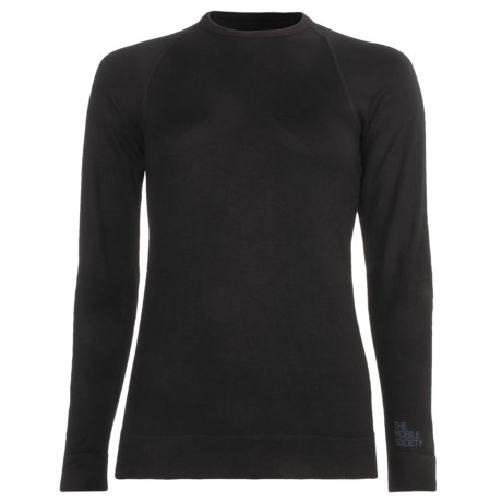 The Mobile Society Angora Base Layer Top - Long Sleeve (For Women)
