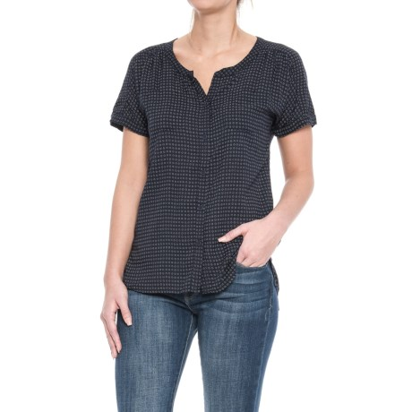 Specially made Woven Pocket Shirt - Short Sleeve (For Women)
