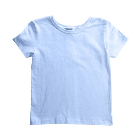 Hanes Cotton T-Shirt - Short Sleeve (For Girls)
