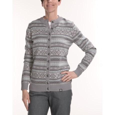 Norwear Sara Cardigan Sweater - Merino Wool (For Women)