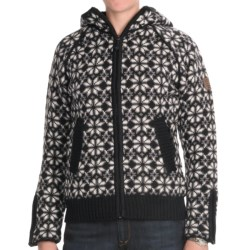 Icewear Helga Hooded Sweater Jacket - New Wool (For Women)