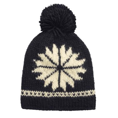 Norwear Dalur Handknit Wool Hat - Fleece Lined (For Men and Women)