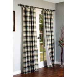 "Thermalogic Weathermate Mansfield Curtains - 80x63"", Tab-Top, Insulated"
