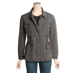Kakadu Jackie Jacket - 8 oz. Cotton Canvas, Barrel Washed (For Women)