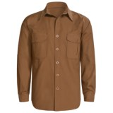 Sydney Oilskin Clothing SOC Tradesman Canvas Shirt - Oilskin Cotton, Long Sleeve (For Men)