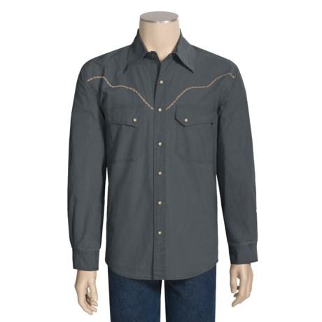 Kakadu Fortworth Canvas Shirt - Long Sleeve (For Men)