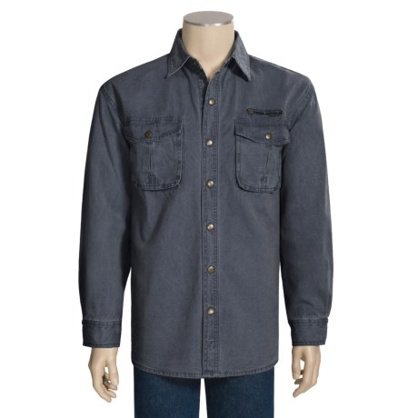 Kakadu McCleod Canvas Shirt - Long Sleeve (For Men)
