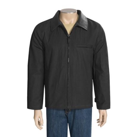 Sydney Oilskin Clothing Collingwood Oilskin Coat - Brushed Cotton Plaid Liner (For Men and Women)