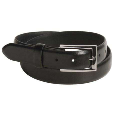 Remo Tulliani Leather Belt - Interchangeable Buckles (For Men)