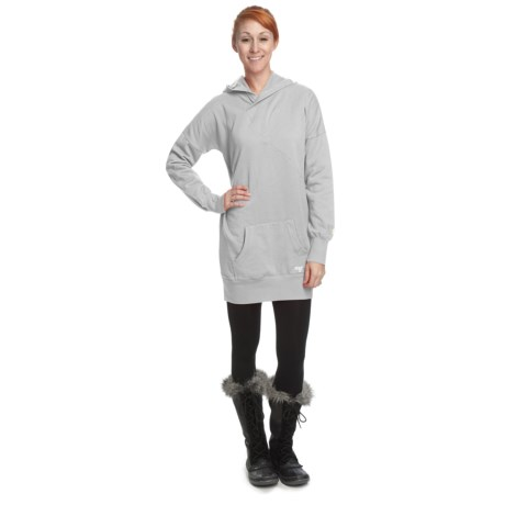 Orage Atna Fleece Oversize Sweatshirt - Hooded (For Women)