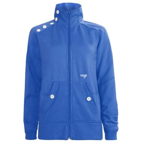Orage Keele Fleece Jacket - Full Zip (For Women)