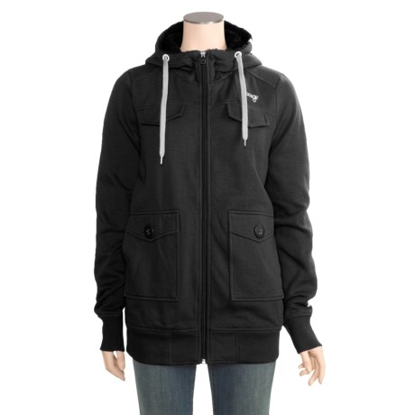 Orage Fergie Fleece Jacket - Full Zip, Hooded (For Women)