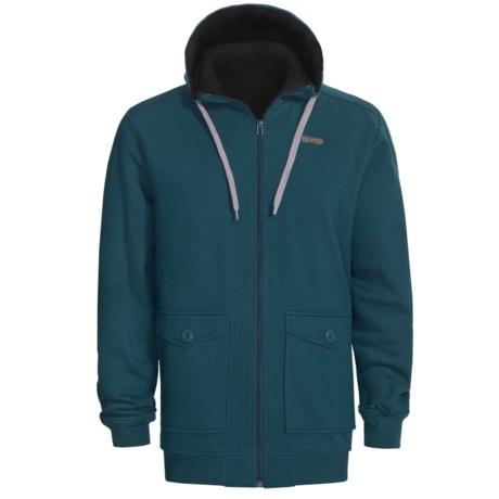 Orage Flee Fleece Sweatshirt - Full Zip, Hooded (For Men)