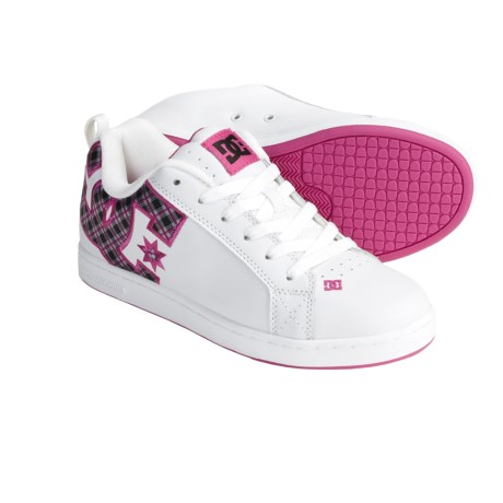 DC Shoes Court Graffik SE Skate Shoes (For Women)