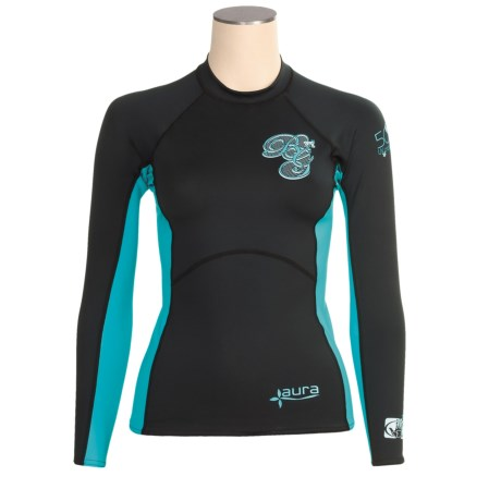Body Glove Aura Rash Guard - UPF 50, Long Sleeve (For Women)