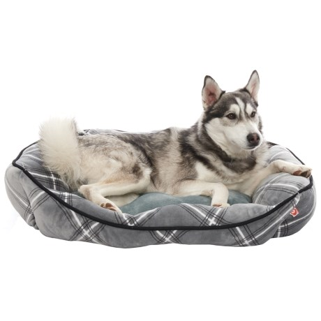 Precious Tails Printed Cuddler Dog Bed - 28x22""