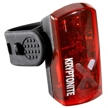 Kryptonite Avenue R-14 Rechargeable Rear Bike Light - 14 Lumens
