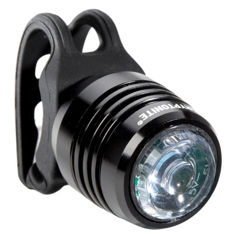 Kryptonite Boulevard F-14 Front Bike Light - 14 Lumens, Rechargeable