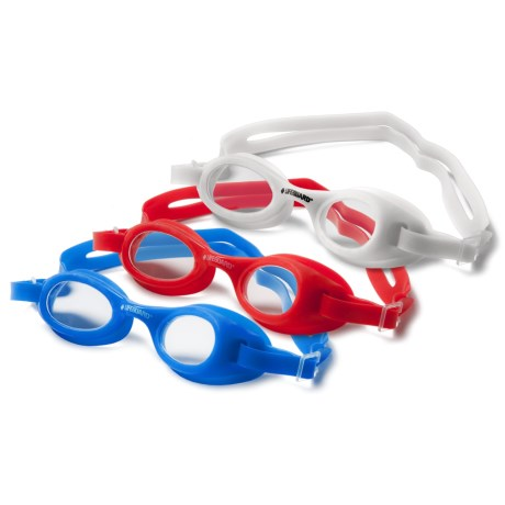 Lifeguard Youth Swim Goggles - 3-Pack (For Girls and Boys)