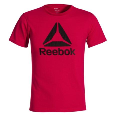 Reebok Big Logo T-Shirt - Short Sleeve (For Big Boys)