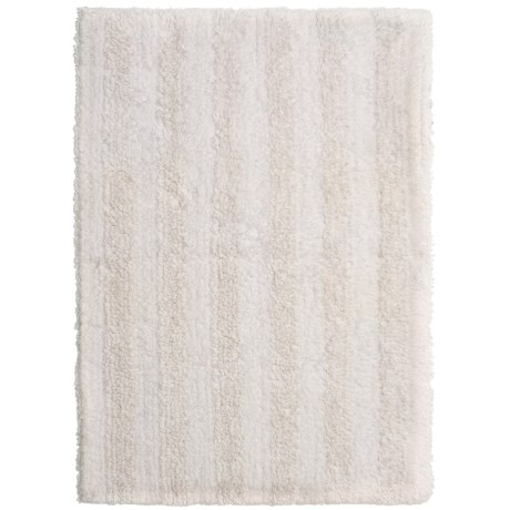 Chesapeake Stripe Bath Rug - Reversible, 17x24""