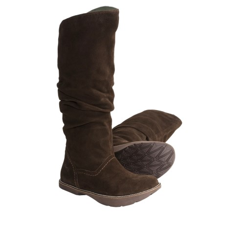 Earth Swank Suede Boots (For Women)